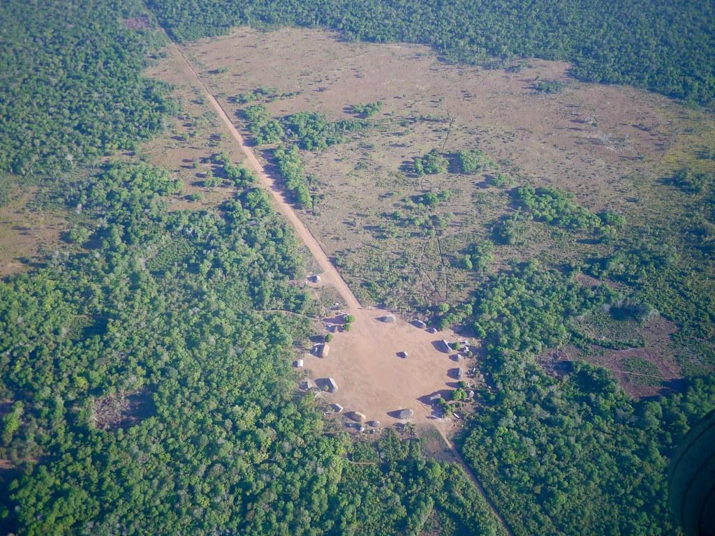Matipu village  .  .  .