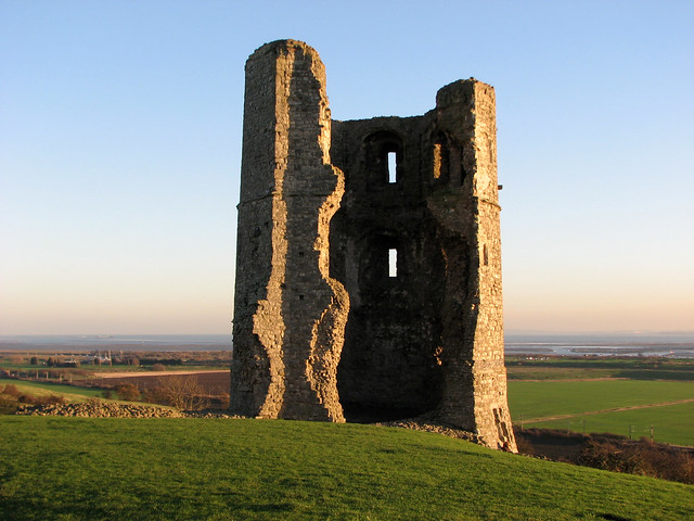 The ruined tower of Hadleigh Castle