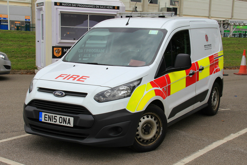North Yorkshire Fire And Rescue Service Ford Transit Conne Flickr
