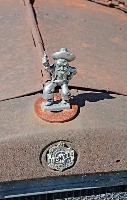 Pistol Pete Hood Ornament