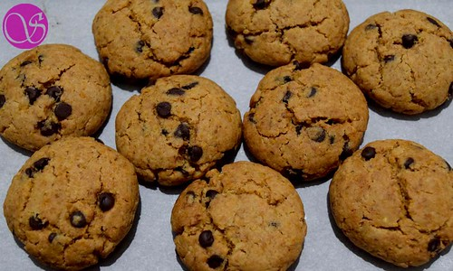 Honey Chocolate Chip Cookies