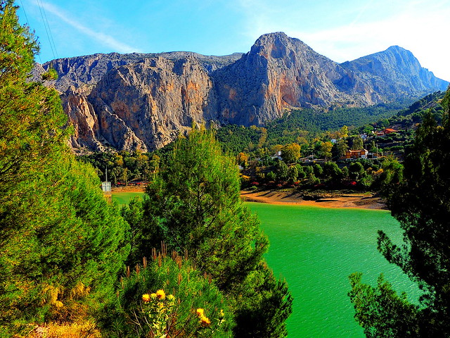 <Sierra de Huma> El Chorro (Málaga)