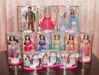 Complete Set Barbie In The 12 Dancing Princesses Collecti Flickr