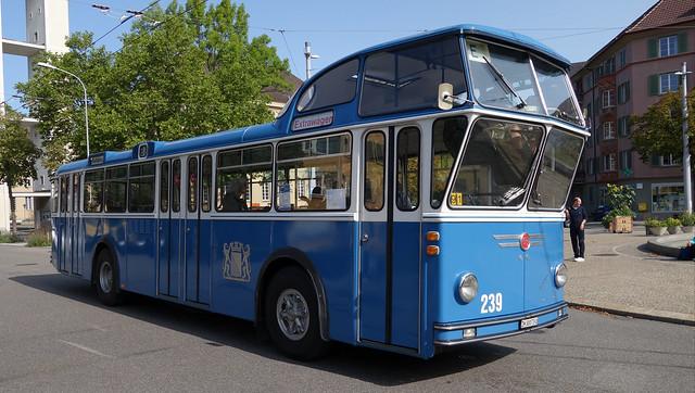 Tram Museum Zürich - Tag der historischen Busse (20. August 2017)