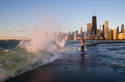Lake Michigan Spray | by romanboed
