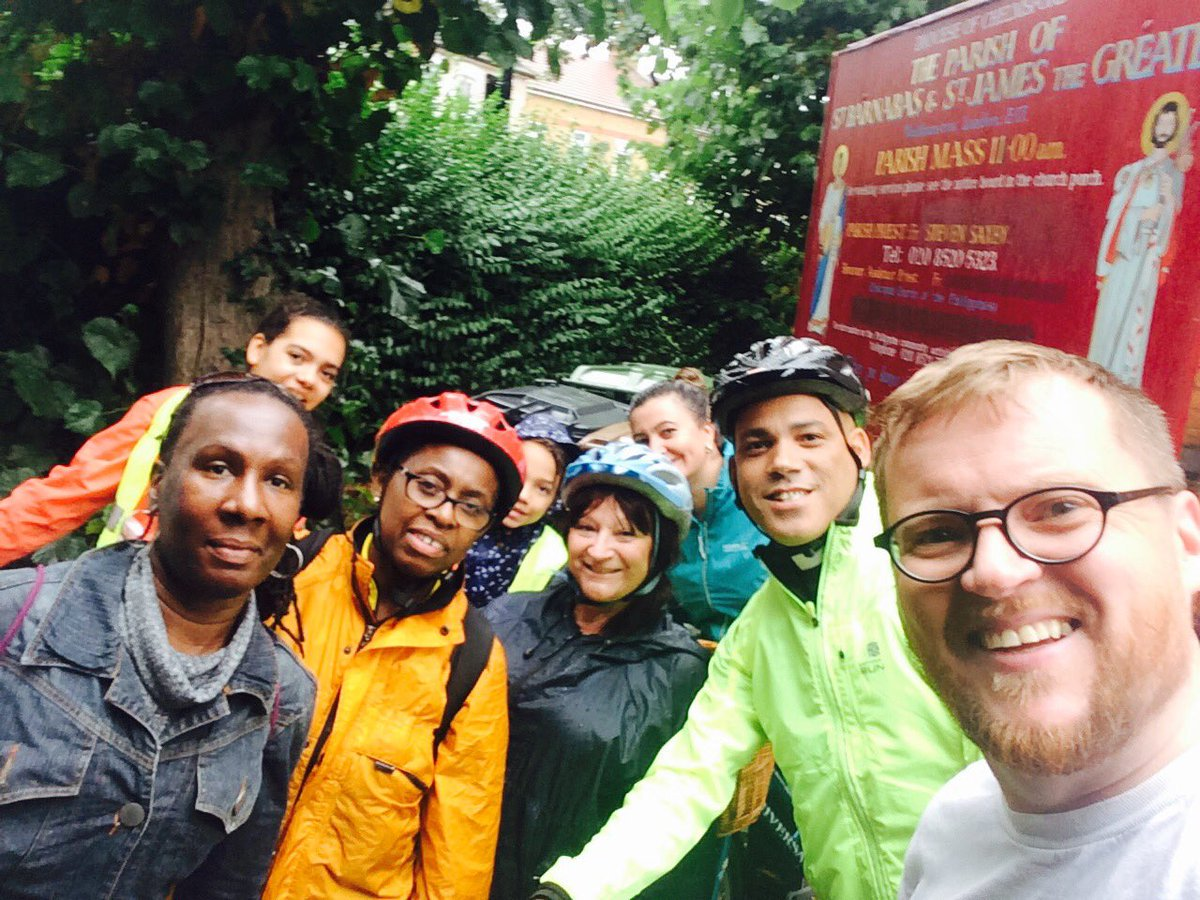 Ride+Stride for churches Essex -  Walthamstow