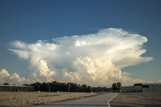 Cumulonimbus incus, White County, Tennessee