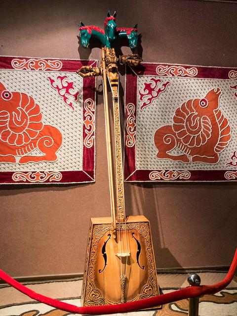 Morin Khuur / muziek - snaarinstrument