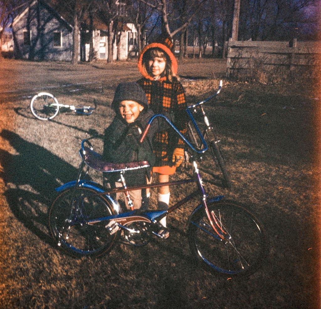 David Xmas Bike - Jane | >> Scan From Reel 13, slide 002 | Flickr