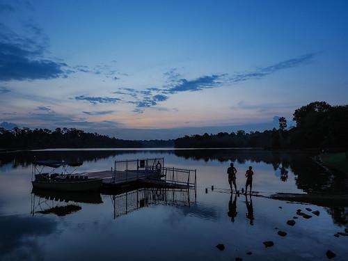 lowerpeircereservoir fishing sundown twilight dusk naturereservepark serene calm