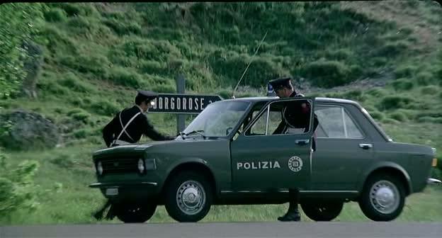 Fiat 128 - Polizia - 1969