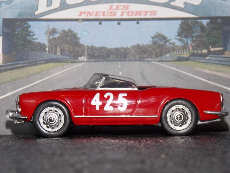 Alfa Romeo Giulietta Spider – 1000 Miglia 1956