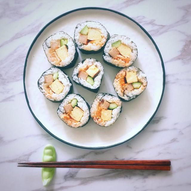 一人食:壽司卷