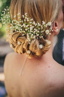 Wedding Hairstyle Ideas : A Natural Woodland Wedding at San Moritz Lodge in Crestline, California | by GlamFashionNET