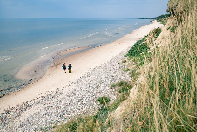 Strantes – Ulmales stāvkrasts / Baltic sea coast in Kurzeme