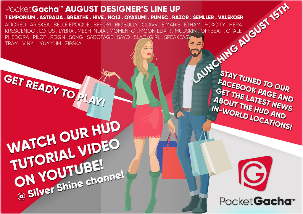 PocketGacha August Line Up! | Take a look at the creator lis