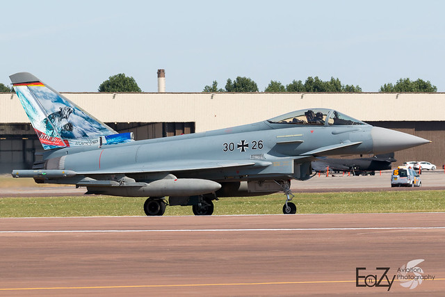30+26 German Air Force (Luftwaffe) Eurofighter Typhoon