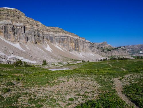 Heading towards Alaska Basin | by snackronym