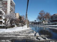 Invierno/Winter, Avenida Vitacura & calle Wisconsin, Vitacura, Santiago 2017, Chile - www.meEncantaViajar.com