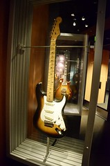 """""""Guitar Gallery: The Quest for Volume"""": Eric Clapton's 1956 Fender Stratocaster, """"Brownie"""", used with Derek & The Dominos on """"Layla"""""""