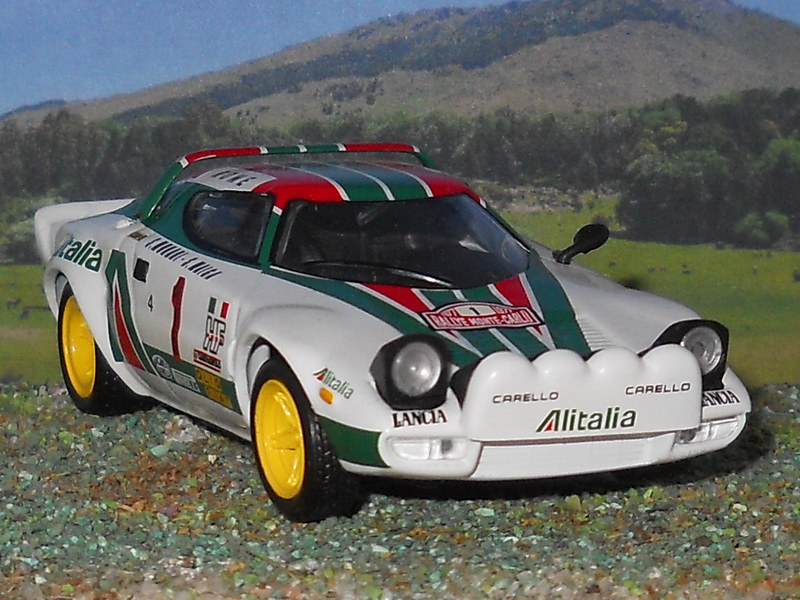 Lancia Stratos HF – Montecarlo 1977
