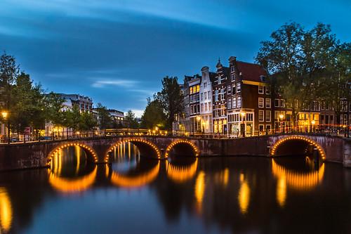 Leidsegraght Canal Bridge, Amsterdam | by ShanePix