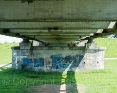 RHE236 Wiesenrain Road Bridge over the Alpenrhein River, Widnau SG Switzerland - Lustenau Austria