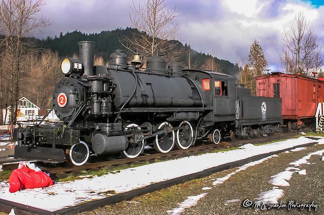 PGE 2 | BLW 2-6-2T | West Coast Railway Heritage Park