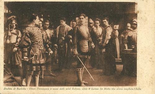 La disfida di Barletta/ Ettore Fieramosca (1915)