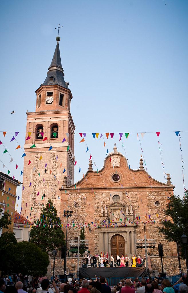 San Pedro Ad Vincula Iglesia Parroquial De Vallecas Flickr