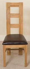 Yale oak dining chair