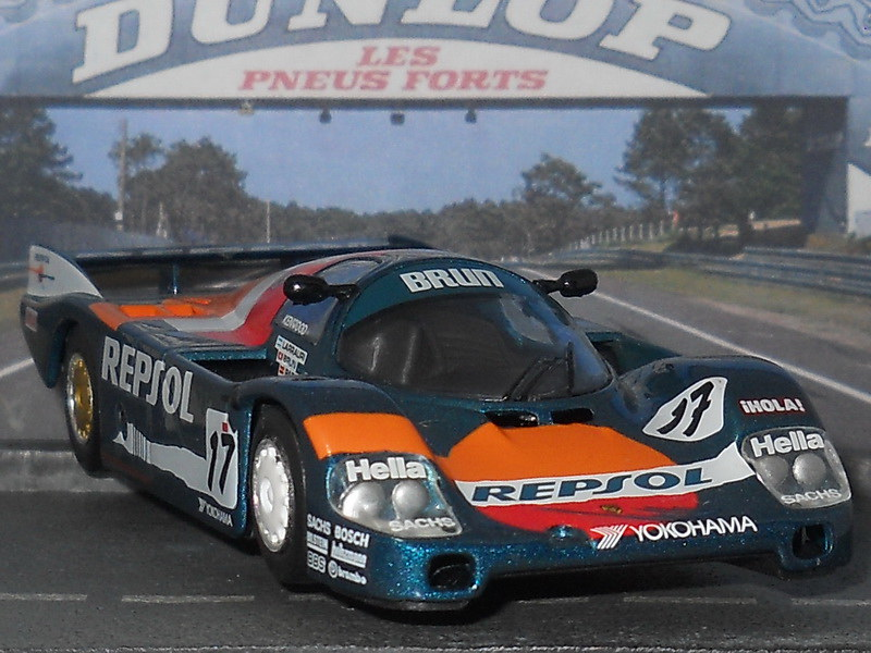 Porsche 962C – 24 Hs Le Mans 1989