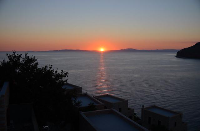 Sunset at Limeni, Laconia