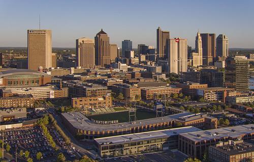 columbus ohio city cityscape architecture downtown