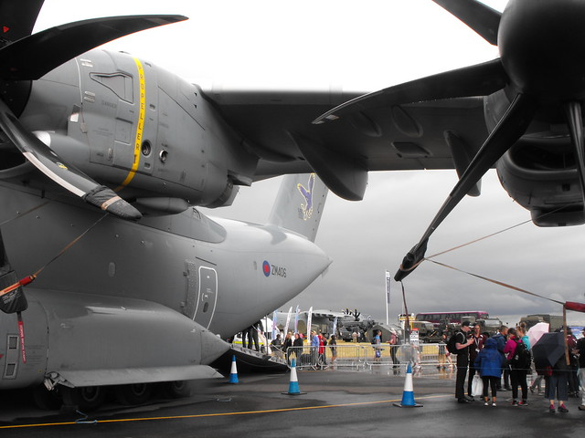 Airbus A400M Atlas - ZM 406 @ RIAT - July 2017