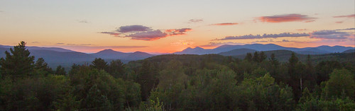 sunset hiking milanhillstatepark