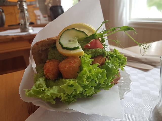 Lunchmacka på Strandnära