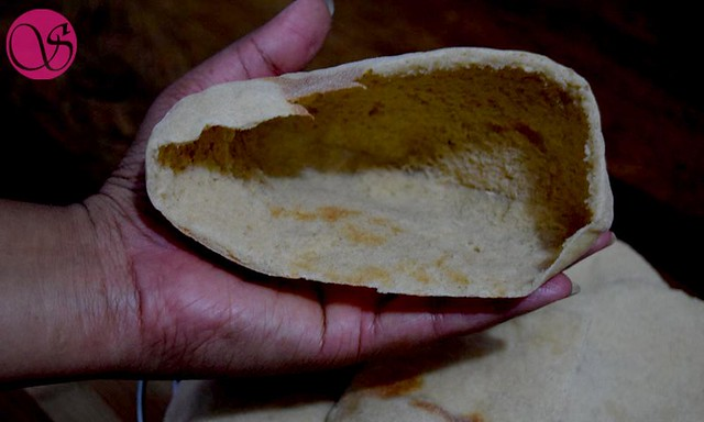 Pocket of Pita bread