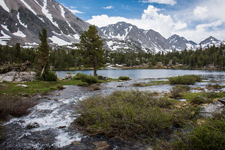 Heart Lake - from Little Lakes trails - Eastern Sierra, CA | by m01229