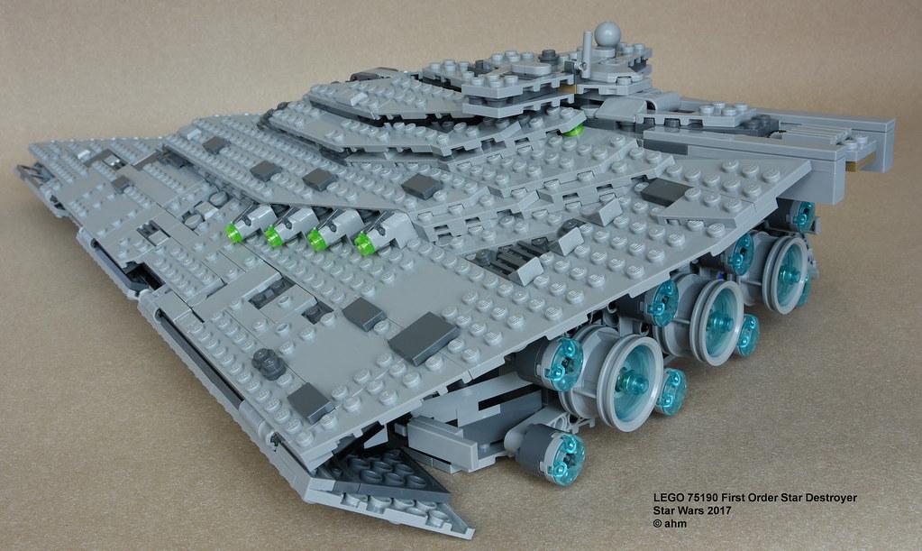First order star destroyer lego size