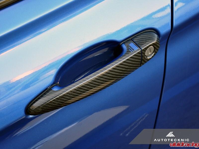 For BMW 328i 2012 AutoTecknic Carbon Fiber Door Handles