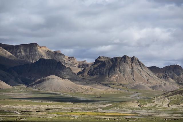 Tsibri Mountain Range, Tibet 2017