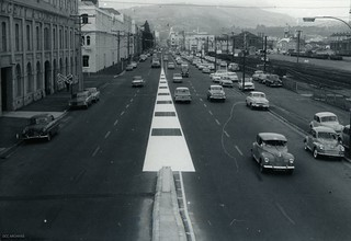Cumberland Street New One Way System, 1968