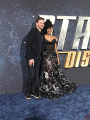 Sonequa Martin Green at the Star Trek Discovery Premiere - IMG_0116