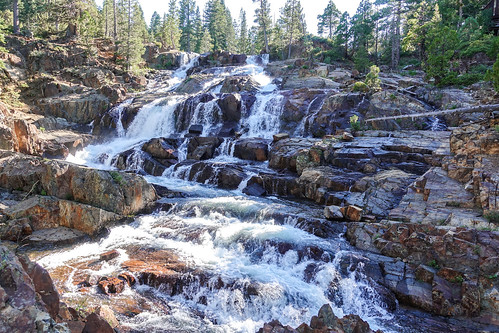 Glen Alpine Falls   by Sandip Bhattacharya