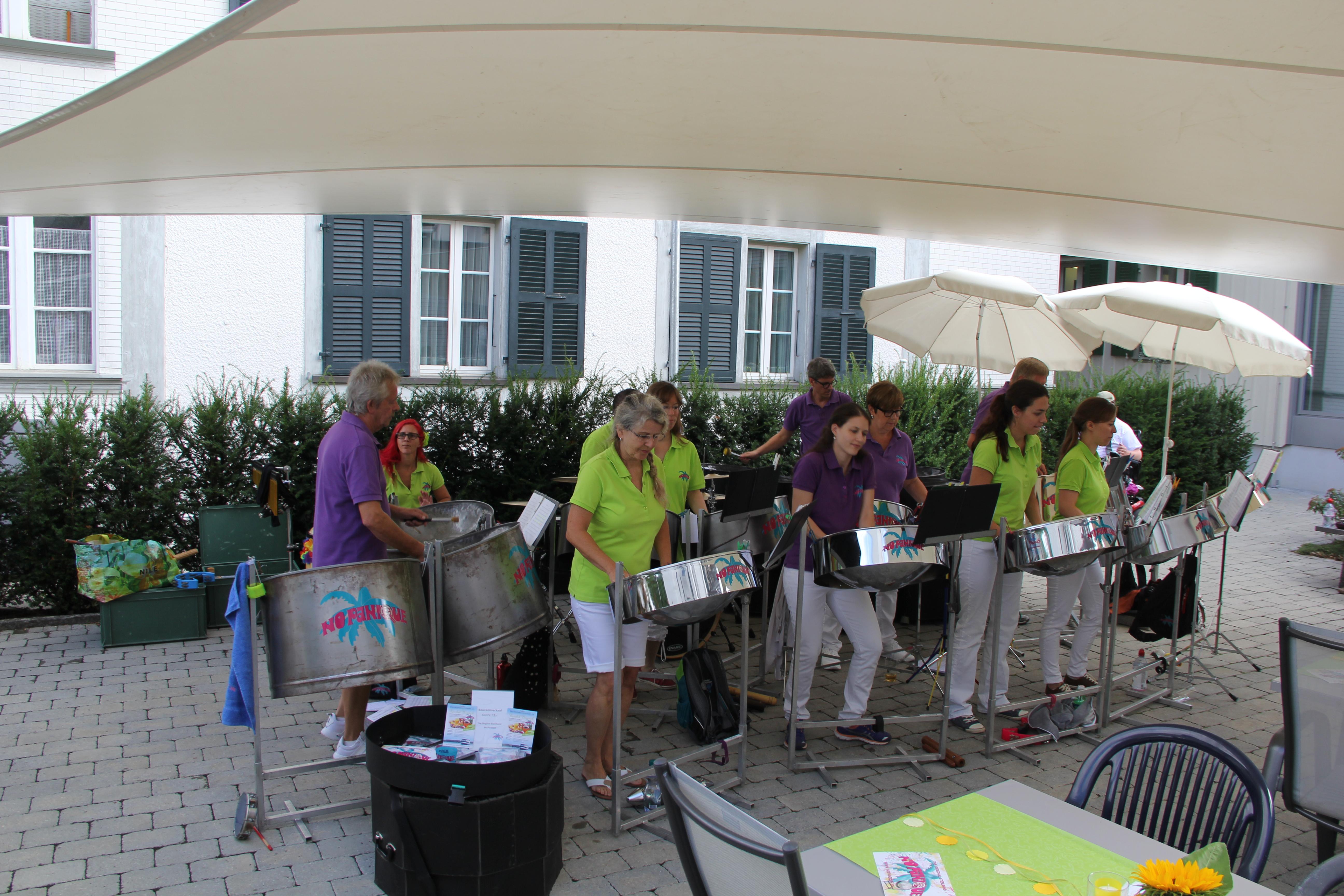 Musikvestival am 19. August 2017 im Pflegeheim Belpberg in Münsingen