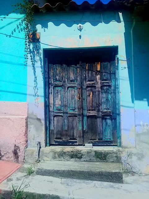 Door. San Cristobal de Las Casas, Chiapas.