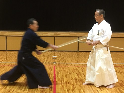 Kurogo Sensei and Kobayashi Senpai | by Mark Tankosich