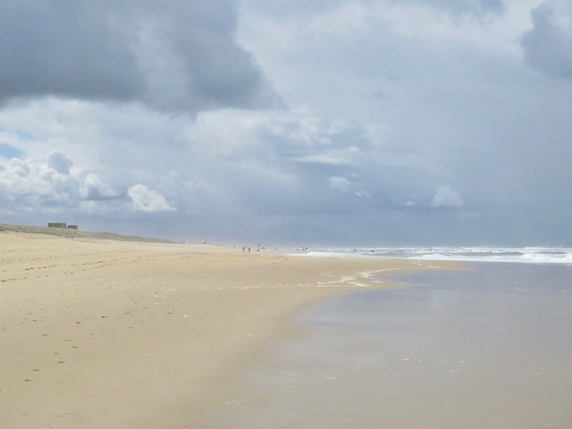 Beach and clouds
