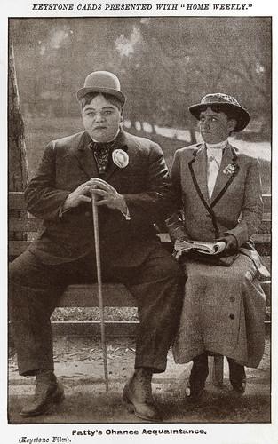 Fatty Arbuckle in Fatty's Chance Acquaintance (1915)